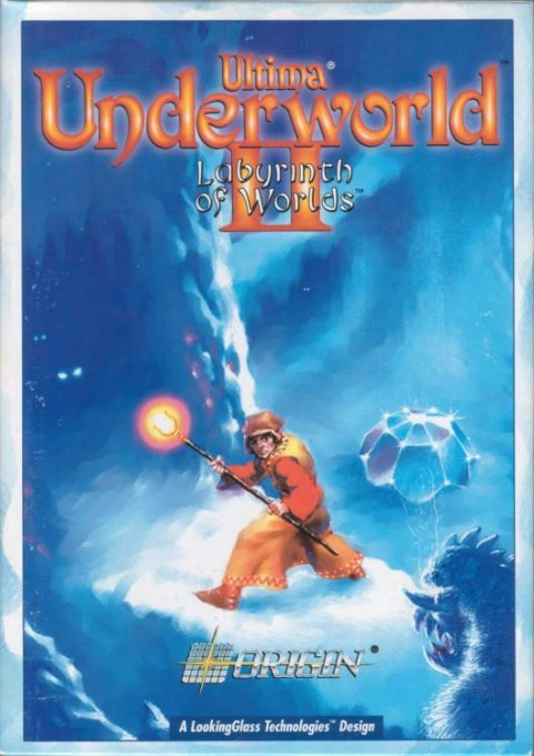 Ultima underworld 2 - 1992 Ultima-underworld-ii-box