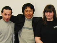 Ali, Miyamoto, and Heidi