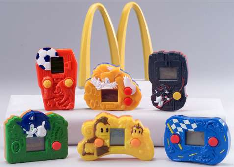 happy meal com games