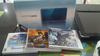 3DS launch day haul