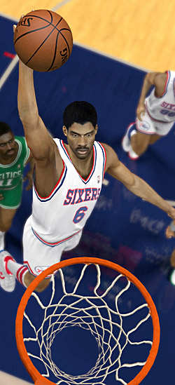 Dr. J in NBA 2K12