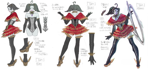 Tira concept art from SoulCalibur V