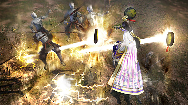 Screen shot from Warriors Orochi 3
