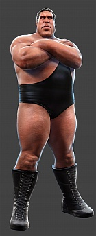 Andre the Giant, as seen in WWE All Stars