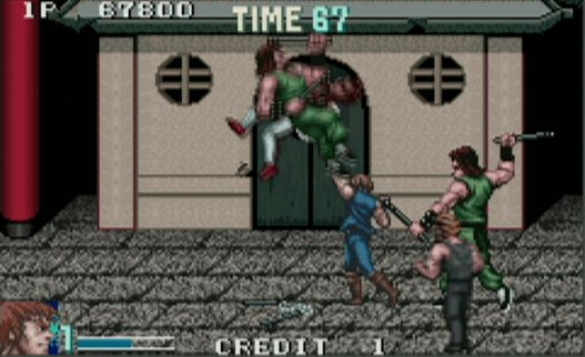 double dragon levels