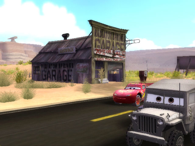 Cars Gamecube Review