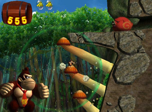 Donkey Kong Jungle Beat Screens - The Next Level