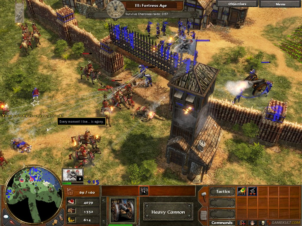 Age of Empires III is a real-time strategy video game developed by Microsoft Corporation's Ensemble Studios and published by Microsoft Game Studios.