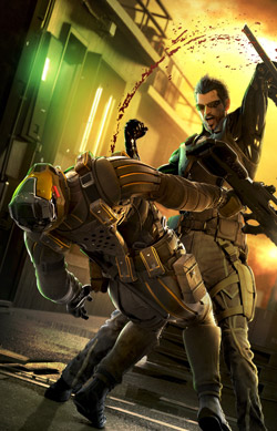 Artwork from Deus Ex: Human Revolution