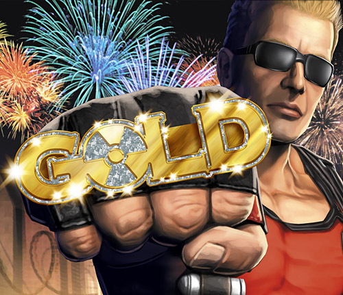 Duke Nukem Goes Gold