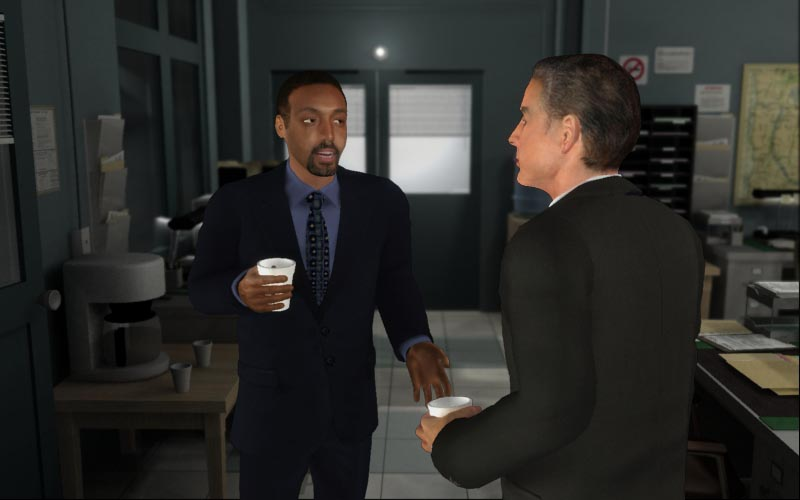 Law & Order: Justice Is Served Screens - The Next Level