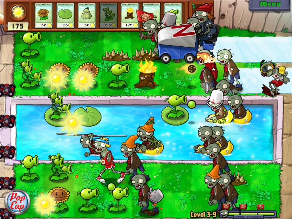 Plants vs. Zombies Screens - The Next Level