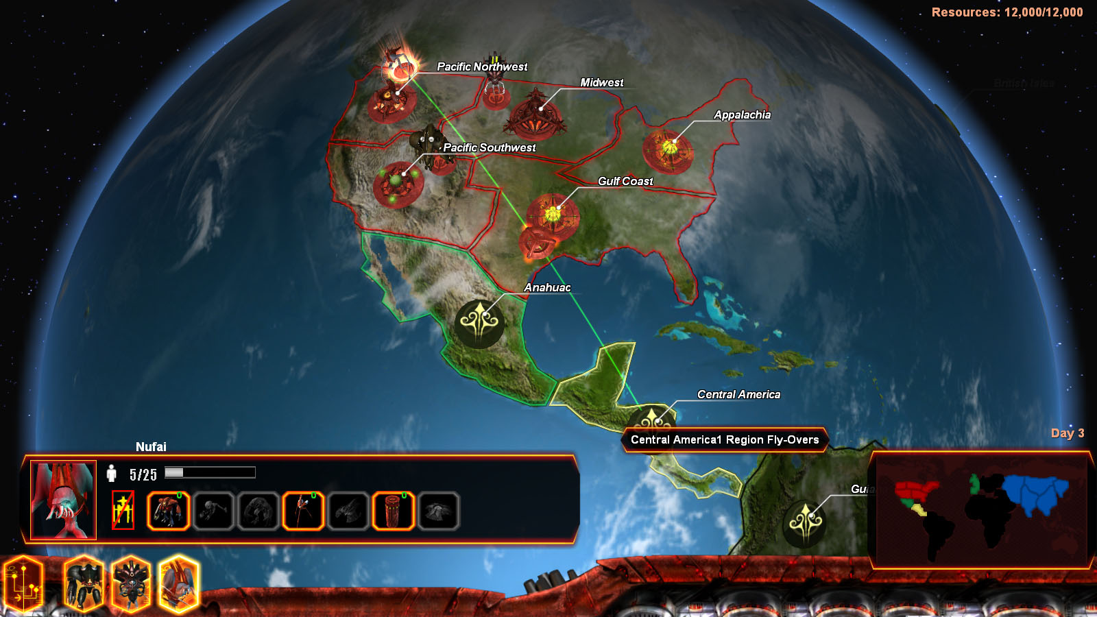 Universe at War: Earth Assault Screenshot 3