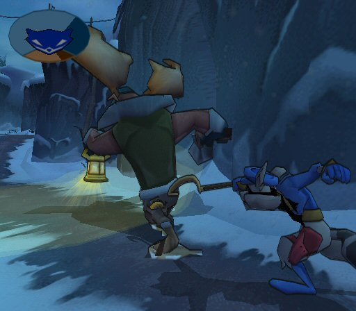 Sly 2 band of thieves screens the next level