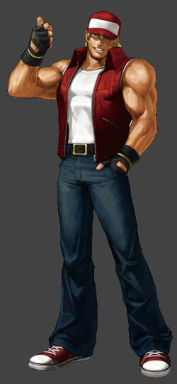 Terry Bogard from from The King of Fighters XIII