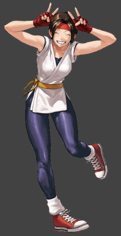 Yuri from The King of Fighters XIII