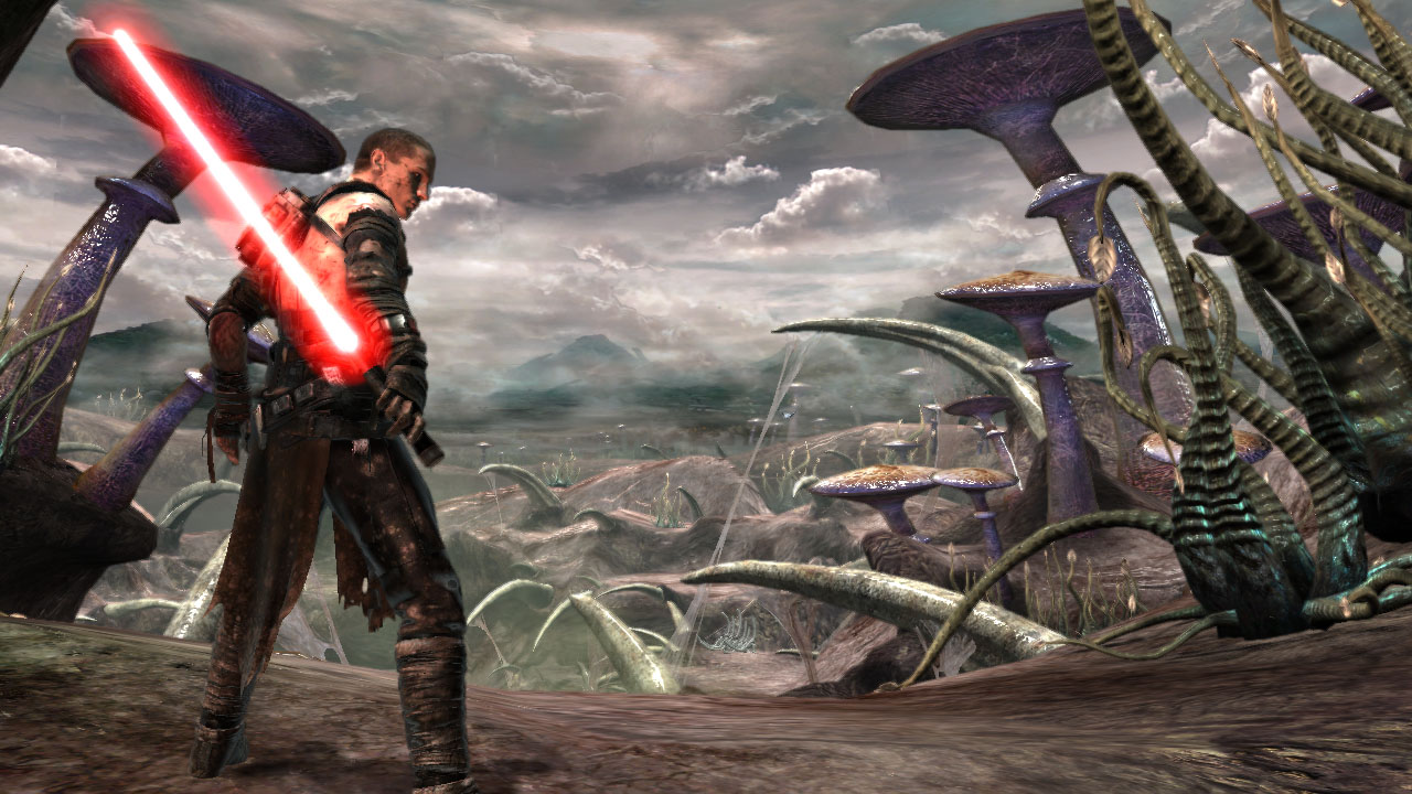 Star wars the force unleashed screens