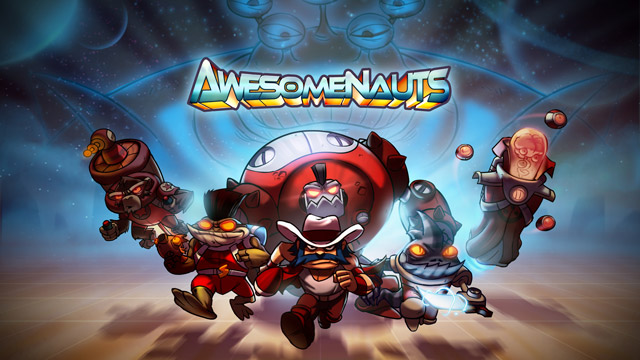 Awesomenauts artwork