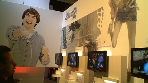 Sin &amp; Punishment booth at E3 2009