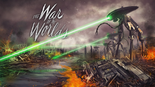 Artwork for The War of the Worlds video game
