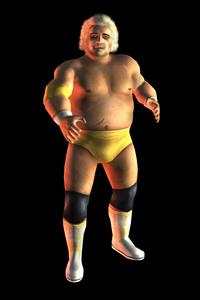 Showdown: Legends of Wrestling - Dusty Rhodes model