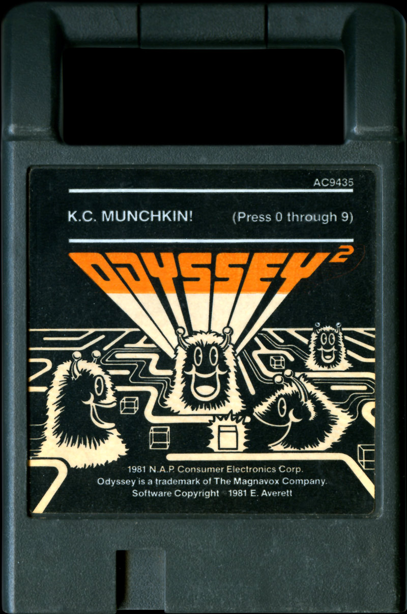 K.C. Munchkin! Cartridge AC9435 with White Copyright Text