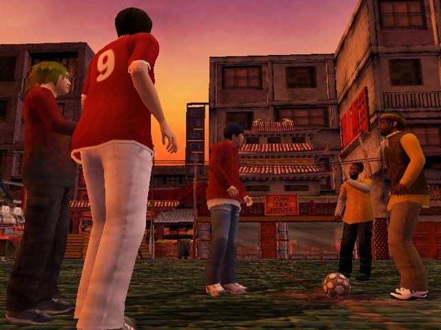 urban freestyle street soccer 7