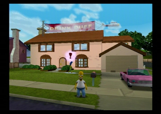 Simpsons Hit Run Ps2 4