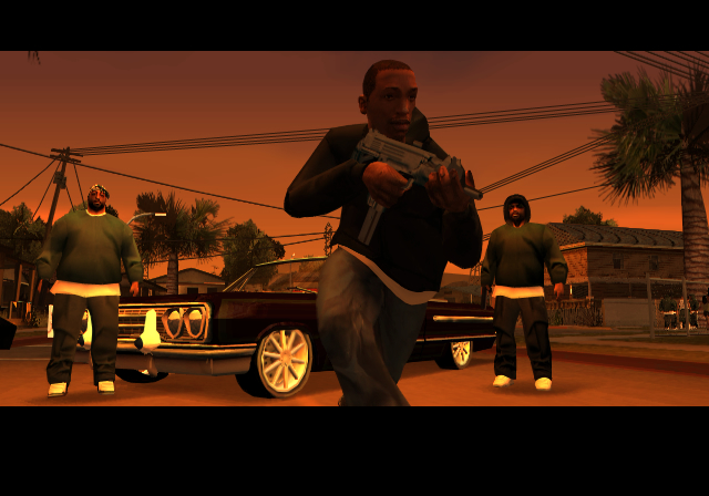 Grand Theft Auto: San Andreas Cheats, Grand Theft Auto: San