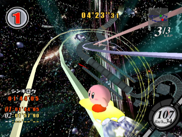 kirby air ride the next level gamecube game review
