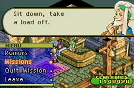 [GBA] Final Fantasy Tactics Advance Screen01