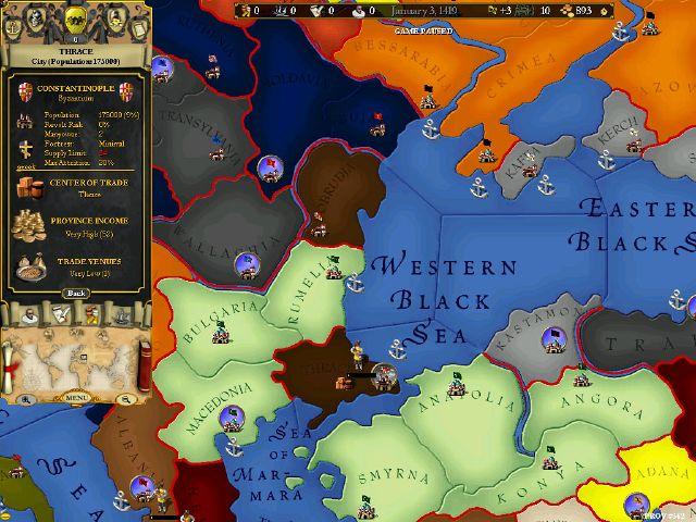 Europa Universalis II Download - Free game demo, patch