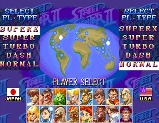Street Fighter Collection 2 [USA][PSXPSP]