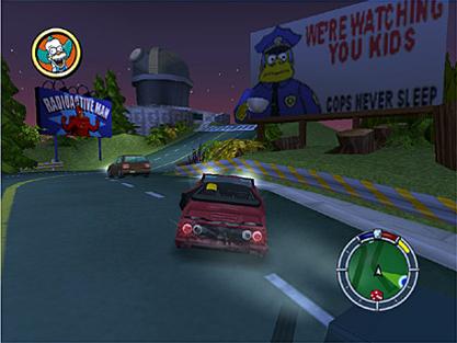 Simpsons: Hit & Run screen shot