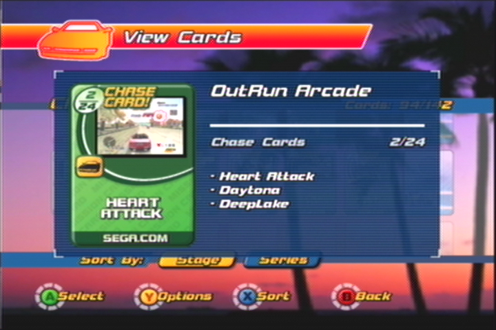 Daytona 2 and Super GT tracks in Outrun 2 - apparently