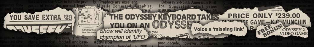 The Odyssey2 Newspaper Archives