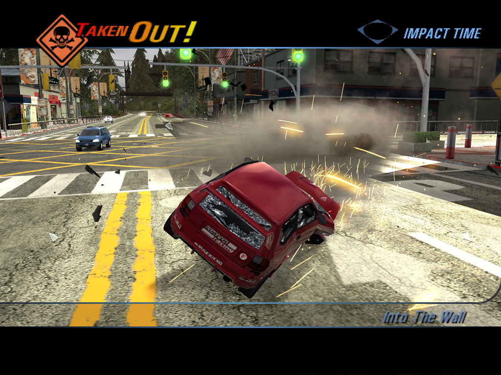 Burnout 3: Takedown - The Next Level Xbox Game Review